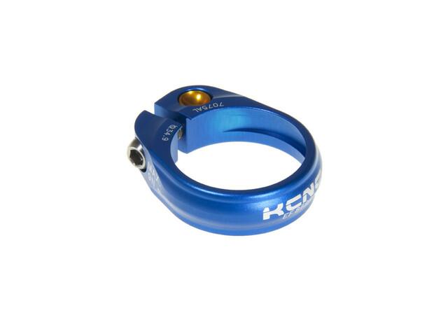KCNC Road Pro Satulatolpan kiristin Ø 34,9 mm , sininen